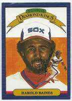 Harold Baines AUTOGRAPH 1986 Donruss Diamond King #13 White Sox 