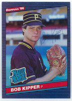Bob Kipper AUTOGRAPH 1986 Donruss #44 Pirates 