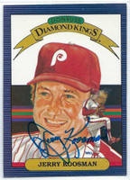 Jerry Koosman AUTOGRAPH 1986 Donruss Diamond King #23 Phillies 
