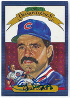 Dave Lopes AUTOGRAPH 1986 Donruss Diamond King #9 Cubs 