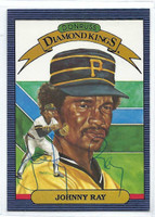Johnny Ray AUTOGRAPH 1986 Donruss Diamond King #19 Pirates 
