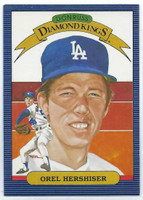 1986 Donruss Baseball Orel Hershiser Los Angeles Dodgers Near-Mint to Mint