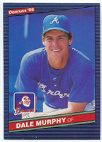 1986 Donruss Baseball Dale Murphy Atlanta Braves Near-Mint to Mint