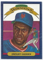 1986 Donruss Baseball Dwight Gooden Diamond King New York Mets Near-Mint to Mint