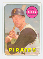 Gene Alley AUTOGRAPH 1969 Topps #436 Pirates 