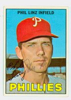 Phil Linz AUTOGRAPH 1967 Topps #14 Phillies 