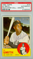 Al Smith AUTOGRAPH d.02 1963 Topps #16 White Sox PSA/DNA 