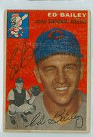 Ed Bailey AUTOGRAPH d.07 1954 Topps #184 Reds  CLEAN  [SKU:BailE405_T54BBR2jl]
