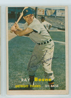 Ray Boone AUTOGRAPH d.04 1957 Topps #102 Tigers   [SKU:BoonR279_T57BBjl]