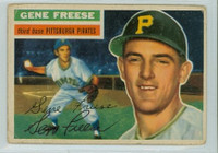 Gene Freese AUTOGRAPH d.13 1956 Topps #46 Pirates  
