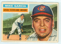 Mike Garcia AUTOGRAPH d.86 1956 Topps #210 Indians TOUGH SERIES 