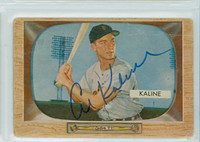 Al Kaline AUTOGRAPH 1955 Bowman #23 Tigers CARD IS Fair-Poor
