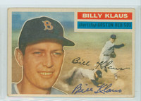 Billy Klaus AUTOGRAPH d.06 1956 Topps #217 Red Sox TOUGH SERIES 