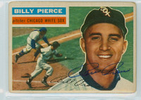 Billy Pierce AUTOGRAPH d.15 1956 Topps #160 White Sox  