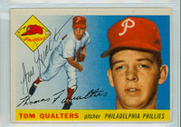 Tom Qualters AUTOGRAPH 1955 Topps #33 Phillies  