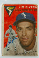 Jim Rivera AUTOGRAPH d.17 1954 Topps #34 White Sox CARD IS F/G