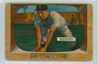 Phil Rizzuto AUTOGRAPH d.07 1955 Bowman #10 Yankees CARD IS GOOD