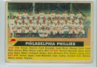 Andy Seminick AUTOGRAPH d.13 1956 Topps #72 Phillies Team CENTER  