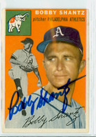 Bobby Shantz AUTOGRAPH 1954 Topps #21 Athletics 