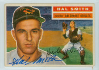 Hal W. Smith AUTOGRAPH 1956 Topps #62 Orioles BAL 