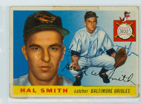 Hal W. Smith AUTOGRAPH d.20 1955 Topps #8 Orioles 
