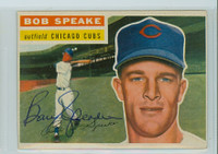 Bob Speake AUTOGRAPH 1956 Topps #66 Cubs  