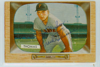 Frank Thomas AUTOGRAPH 1955 Bowman #58 Pirates 