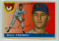 Bill Tremel AUTOGRAPH d.13 1955 Topps #52 Cubs  CARD IS F/P