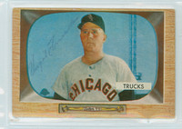 Virgil Trucks AUTOGRAPH d.13 1955 Bowman #26 White Sox 