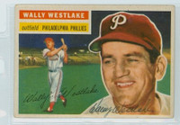 Wally Westlake AUTOGRAPH 1956 Topps #81 Phillies  