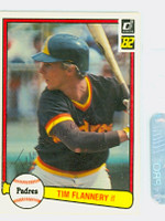 Tim Flannery AUTOGRAPH 1982 Donruss #61 Padres 