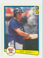 Mike Squires AUTOGRAPH 1982 Donruss #39 White Sox 