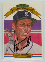 Alan Trammell AUTOGRAPH 1982 Donruss #5 Tigers Diamond King 