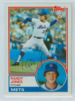 Randy Jones AUTOGRAPH 1983 Topps #29 Mets 