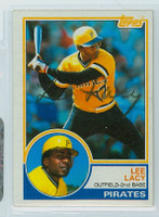 Lee Lacy AUTOGRAPH 1983 Topps #69 Pirates   [SKU:LacyL4932_T83BBCpl]
