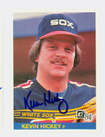 Kevin Hickey AUTOGRAPH d.12 1984 Donruss #135 White Sox 