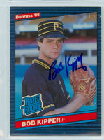 Bob Kipper AUTOGRAPH 1986 Donruss #44 Pirates ROOKIE 