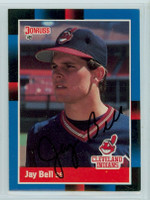 Jay Bell AUTOGRAPH 1988 Donruss Indians 