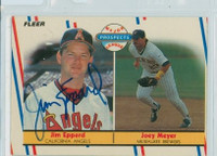 Jim Eppard AUTOGRAPH 1988 Fleer Angels 