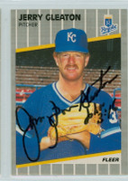 Jerry Don Gleaton AUTOGRAPH 1989 Fleer Royals 
