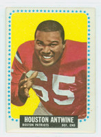 1964 Topps Football 2 Houston Antwine ROOKIE Boston Patriots Excellent
