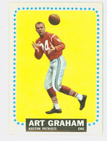 1964 Topps Football 11 Art Graham Boston Patriots Excellent