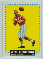 1964 Topps Football 11 Art Graham Boston Patriots Excellent to Mint