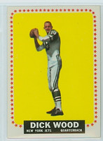 1964 Topps Football 130 Dick Wood ROOKIE New York Jets Near-Mint
