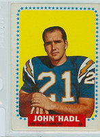 1964 Topps Football 159 John Hadl ROOKIE San Diego Chargers Good to Very Good