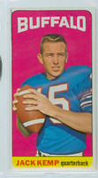 1965 Topps Football 35 Jack Kemp Single Print Buffalo Bills Excellent to Mint