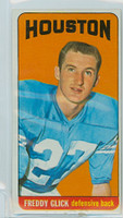 1965 Topps Football 76 Freddy Glick Houston Oilers Excellent to Mint