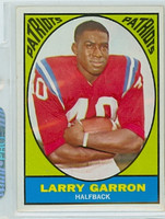 1967 Topps Football 4 Larry Garron Boston Patriots Excellent to Mint