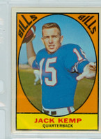1967 Topps Football 24 Jack Kemp Buffalo Bills Excellent