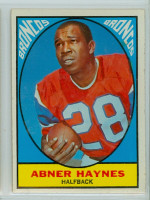 1967 Topps Football 35 Abner Haynes Denver Broncos Excellent to Excellent Plus